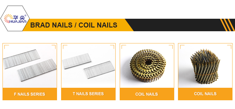 Best Quality 2.1*38mm Ring Wood Pallet Fencing Coil Nails