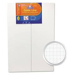 ** Guide-Line Paper-Laminated Polystyrene Foam Display Board, 30 x 20, White, 2/PK **