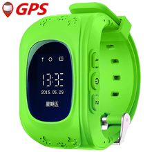 2016 Kid Smart Watch Q50 GPS Location SOS Call Safe Wristwatch Finder Locator Tracker Watch for Kid Child Anti Lost Monitor Baby