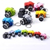Factory Custom Creation Plastic Flashlight Key Chain Promotion 3D Mini Camera LED Light Keychain