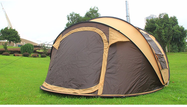 Many years factory two colors luxury family big c&ing pop up tent & Many Years Factory Two Colors Luxury Family Big Camping Pop Up ...