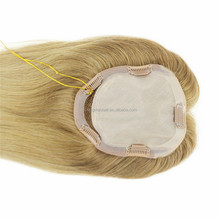 Nature Human Hair jewish wig Toupee blonde For Womens Quality Virgin Chinese Human Hair Mens Toupee