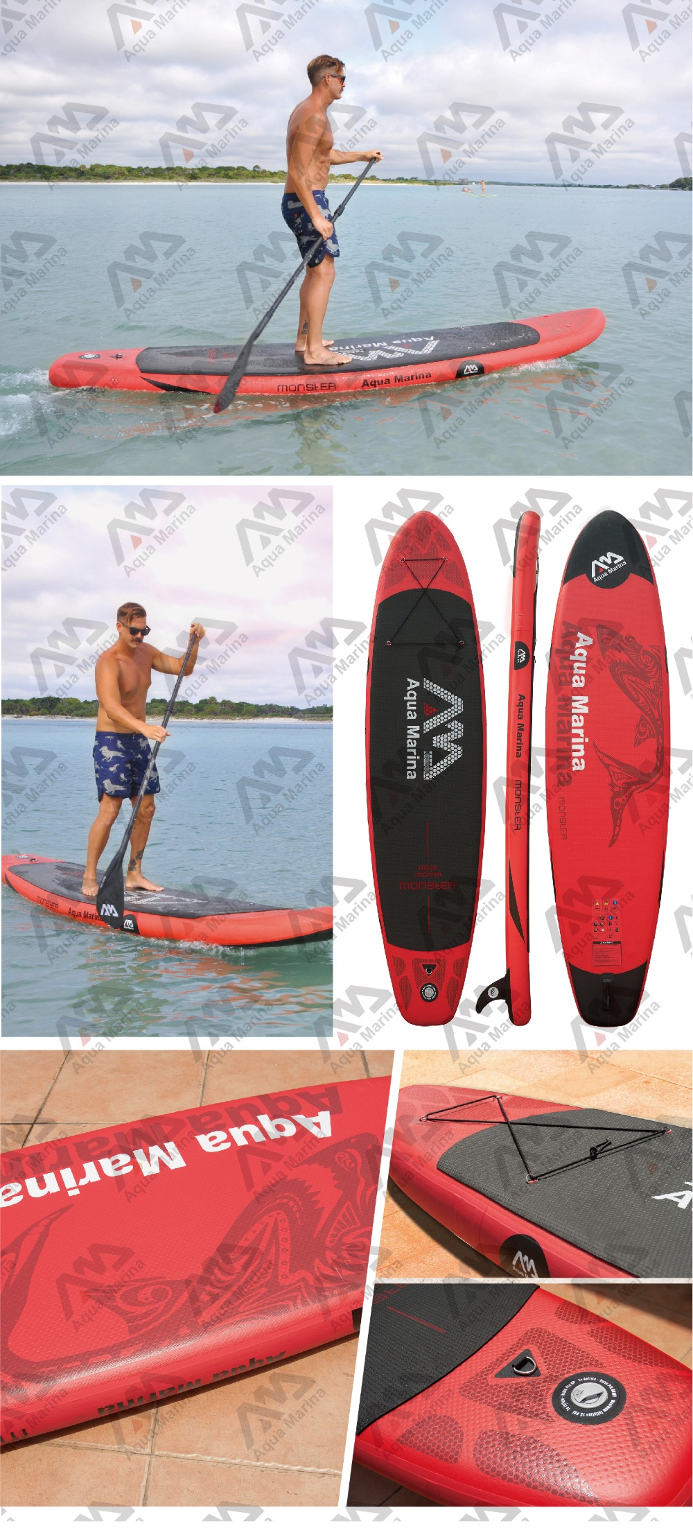 f8def0ccd Inflável SUP Stand up Paddle Board iSUP Paddle Board Inflável Big remador