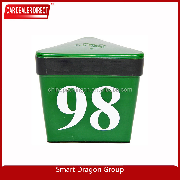 3 Sides Colored Magnetic suction car top number car hat