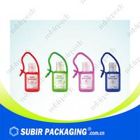 wholesale high quality bath body works silicone hand sanitizer holder