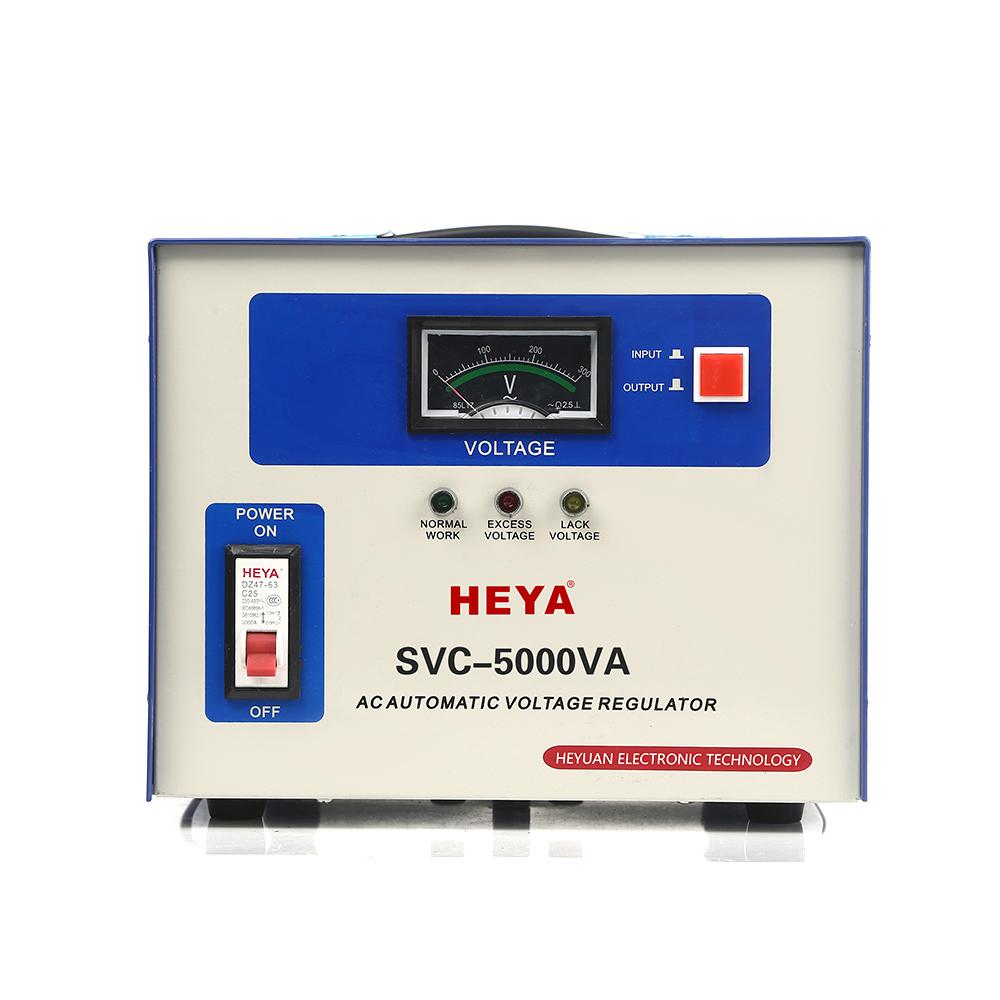 Svc 5kva Single Phase Servo Type Automatic Voltage Regulator/protector For  Alternator - Buy Voltage Regulator,Automatic Voltage Regulator For