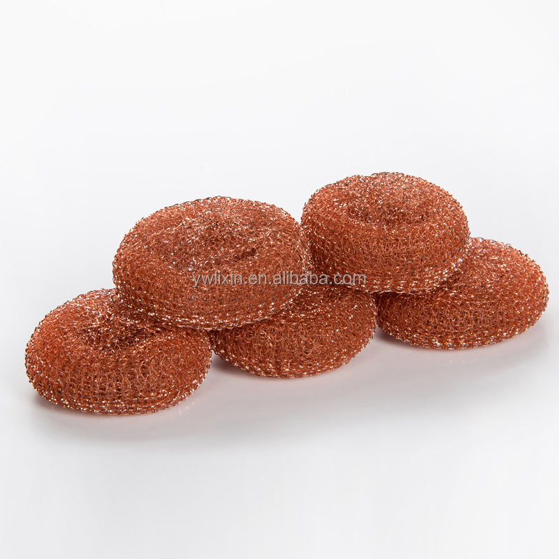 Hot sale kitchen copper coated pot scourer