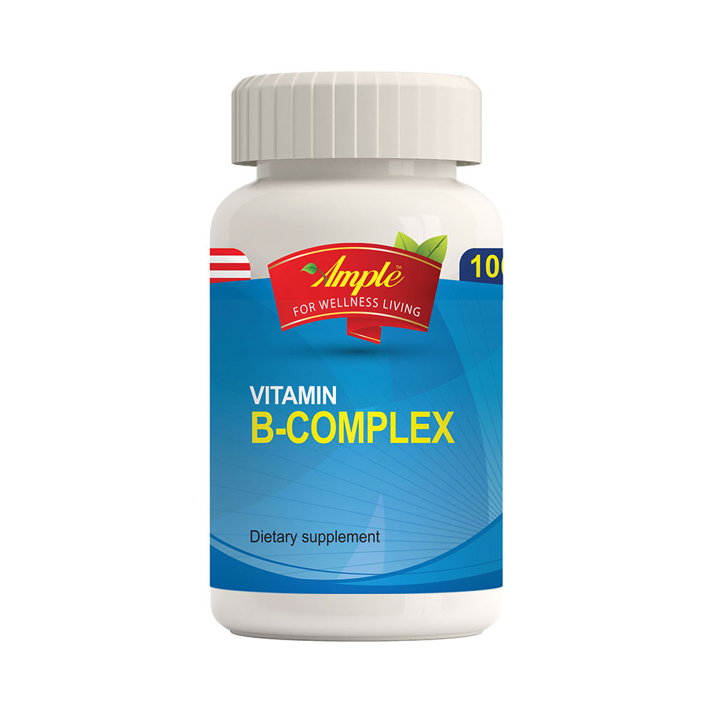AMPLE Vitamin B Complex - 100 Softgels