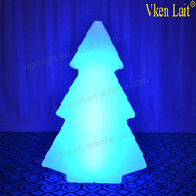 rechargeable waterproof ip68 christmas tree stand remote control as gifts for Christmas party