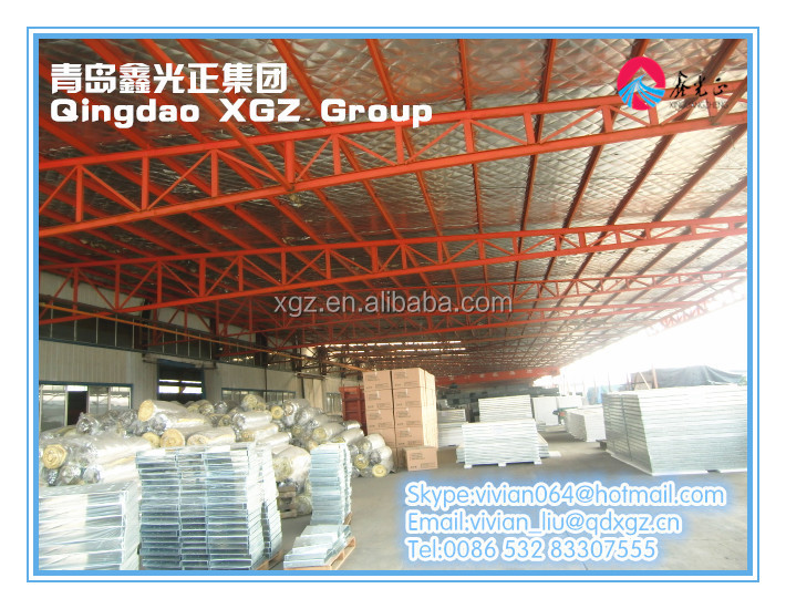 China XGZ prefab steel building construction material