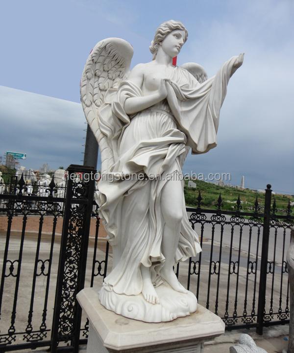 Brand new Large Garden Stone Angel Statue For Sale - Buy Garden Stone Angel  NL06
