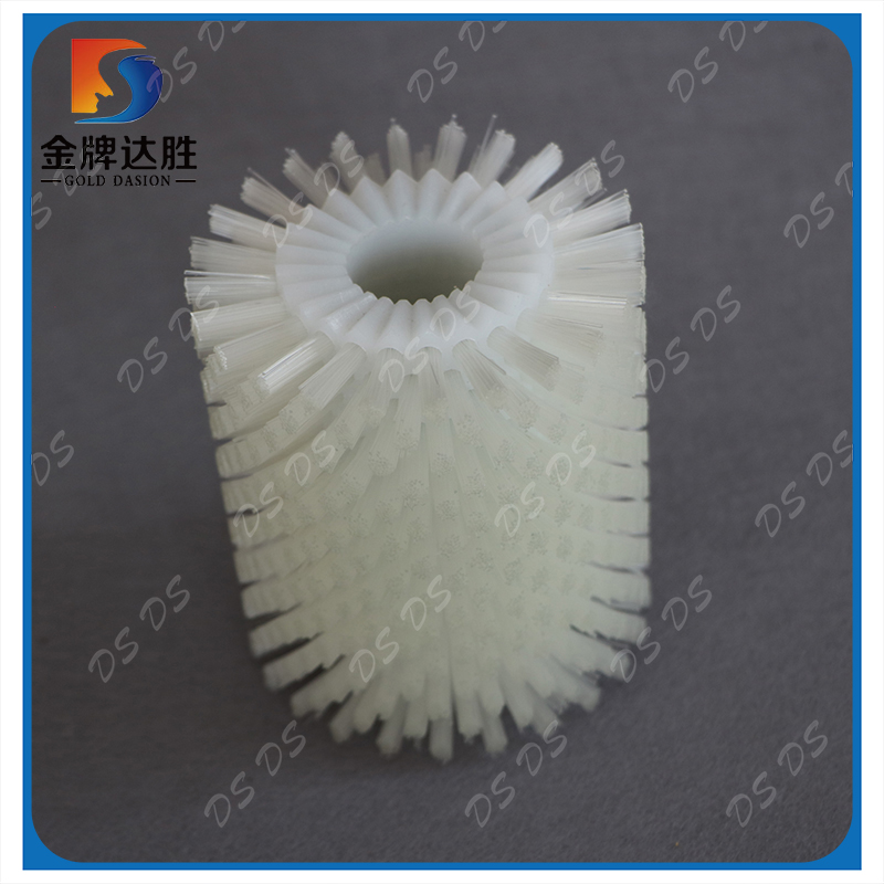 Cleaning Polishing Nylon Wire Roller Brush Without Shaft