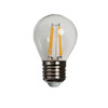 globe led light G45 E14 2W 4W Filament led lamp bulbs DC 12V /24V