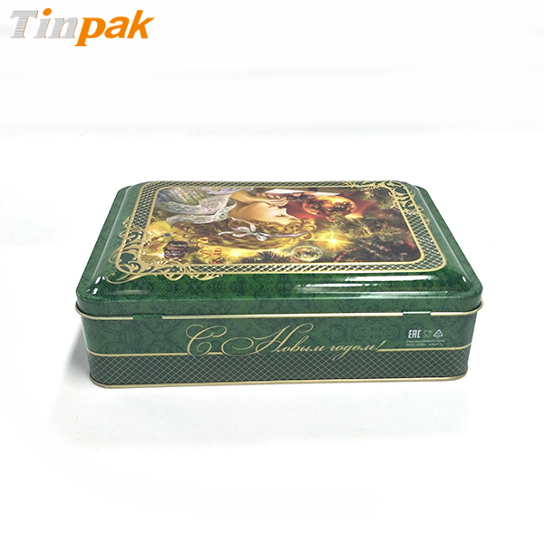 High quality Chocolate tins metal boxes for holiday