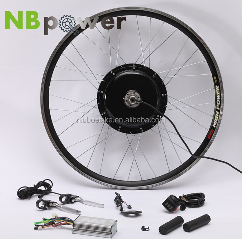 26 inch electric bike 1000W front wheel conversion kit ,with LCD5