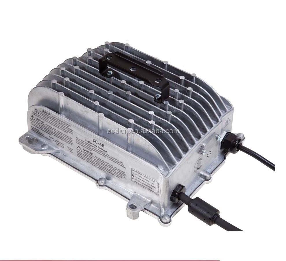 HF 36 volt lift truck battery charger for Mitsubishi, 48v 20amp IP65 battery charger, Direct Factory Price batter charger