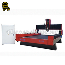 jinan dsp 5.5kw water cooling spindle granite marble stone cnc router machine water jet cutting machine