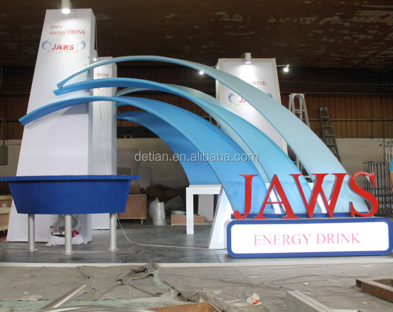 Exhibition Booth For Sale : Island shape exhibition tent used trade show booth for
