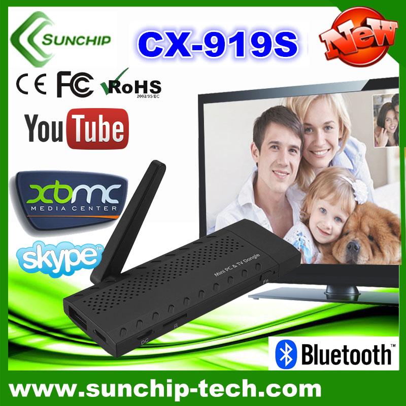CX-919S Android 4.1 Mini PC RK3188 1.6GHz 2GB RAM 8GB ROM WIFI Bluetooth Quad Core <strong>TV</strong> <strong>stick</strong> CX-919S 2G+8G daul-core <strong>TV</strong> <strong>Dongle</strong>