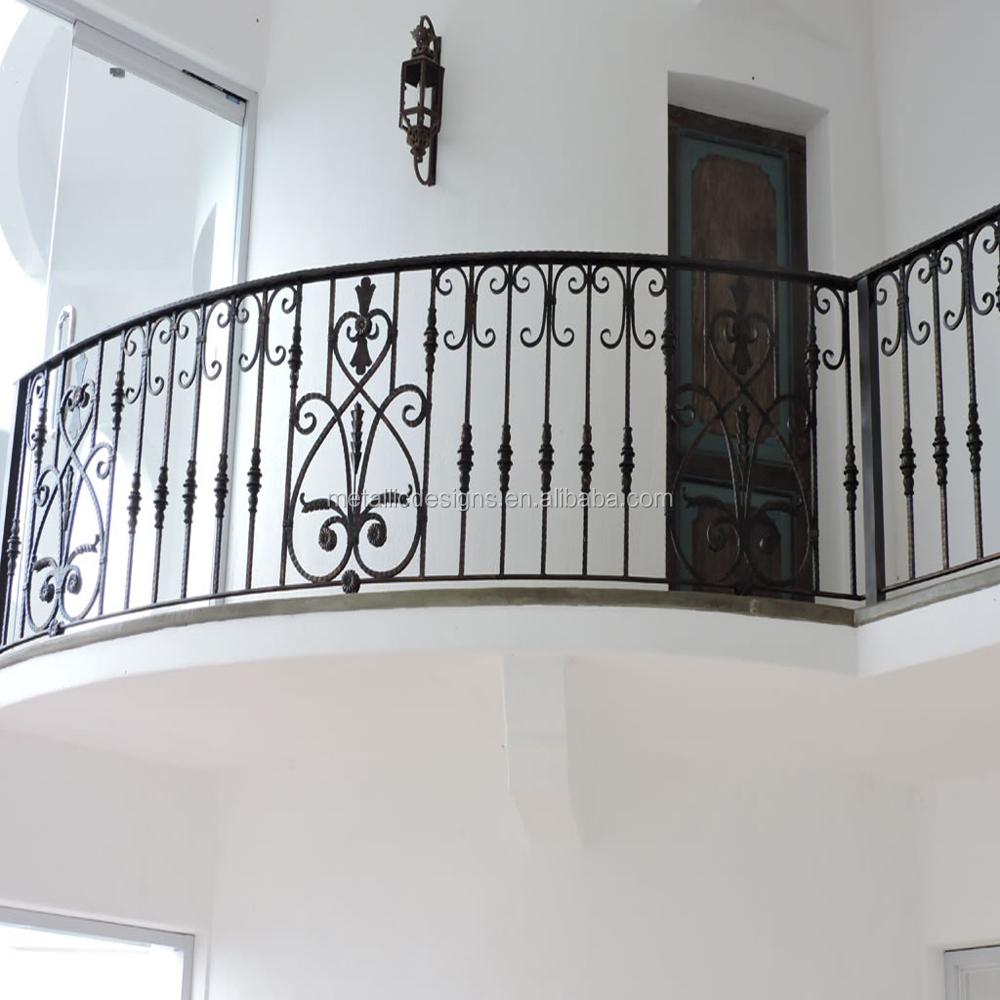 Wrought Iron Balustrades Stair Railing Juliet Balcony