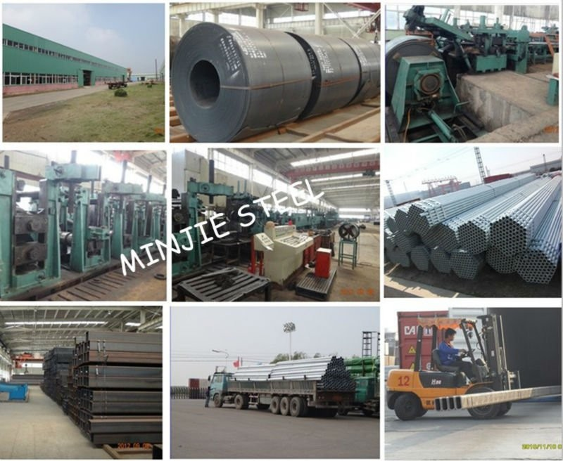 hot dip galvanized steel pipe/scaffolding tube/steel tube8