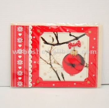 luxury handmade new year card