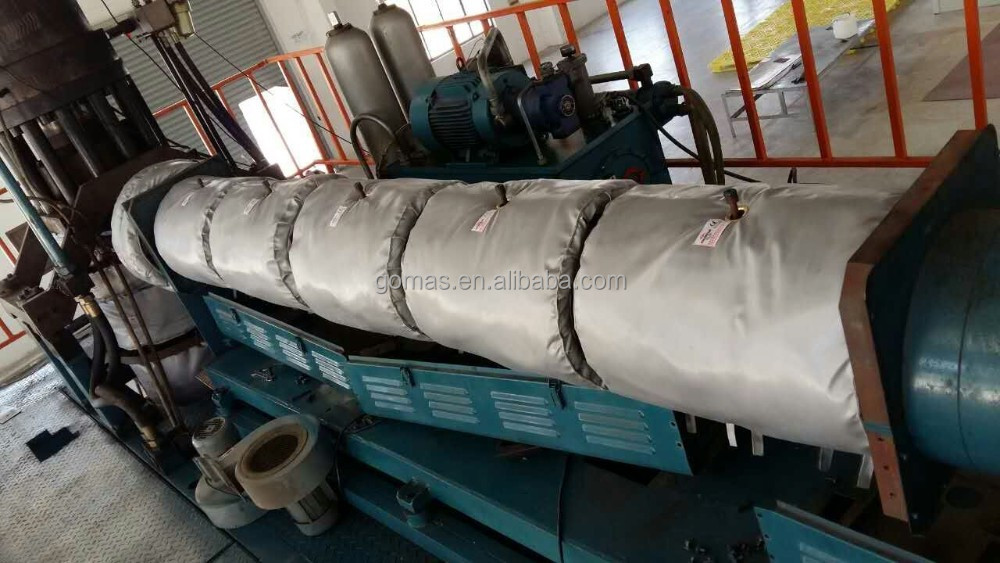 Blow molding machine Extruder Insulation Jackets for barrel heater
