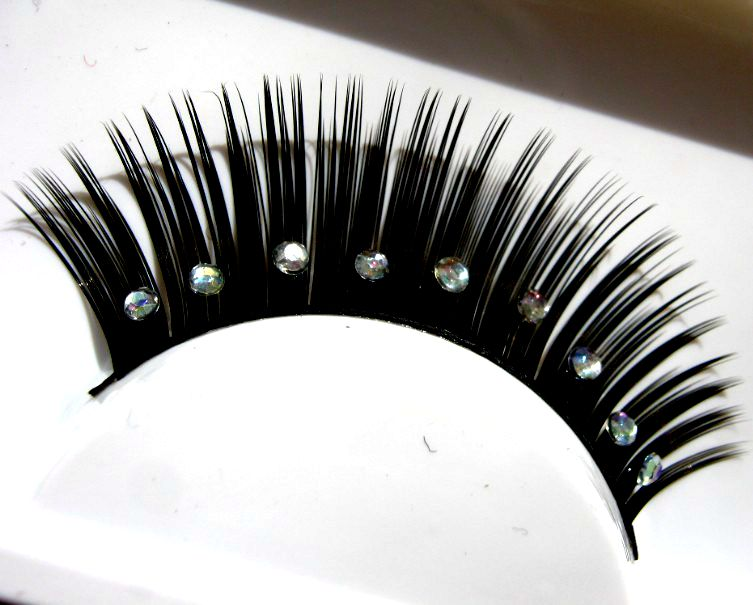 9d6cbed591c Buy 1 pairs Artistic photographs Artistic bridal diamond thick false  eyelashes eye tail lengthened XZ-03 in Cheap Price on m.alibaba.com