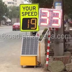 Mobile Solar Radar Led Speed Limit Sign Buy Led Speed