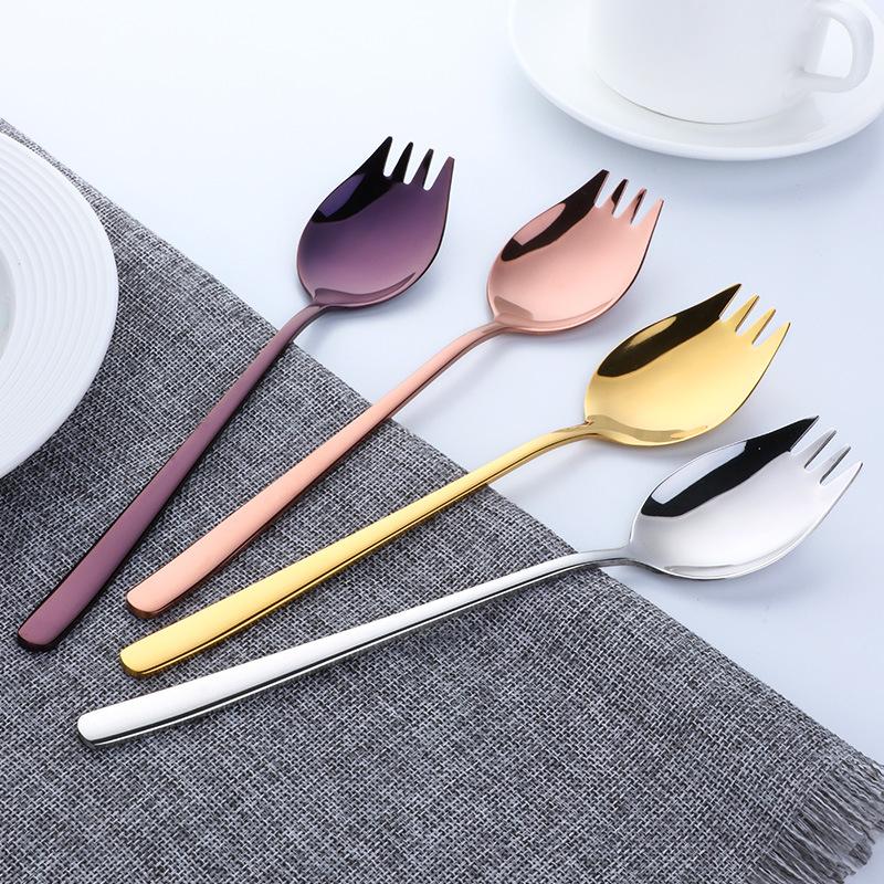 0063 Cutlery Tableware Set Upscale 304 Stainless Steel Western-Style Food