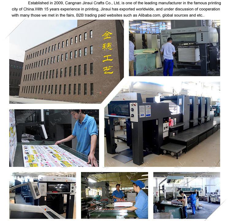 China Manufacturer Safety Warning Sample Car Sticker Design