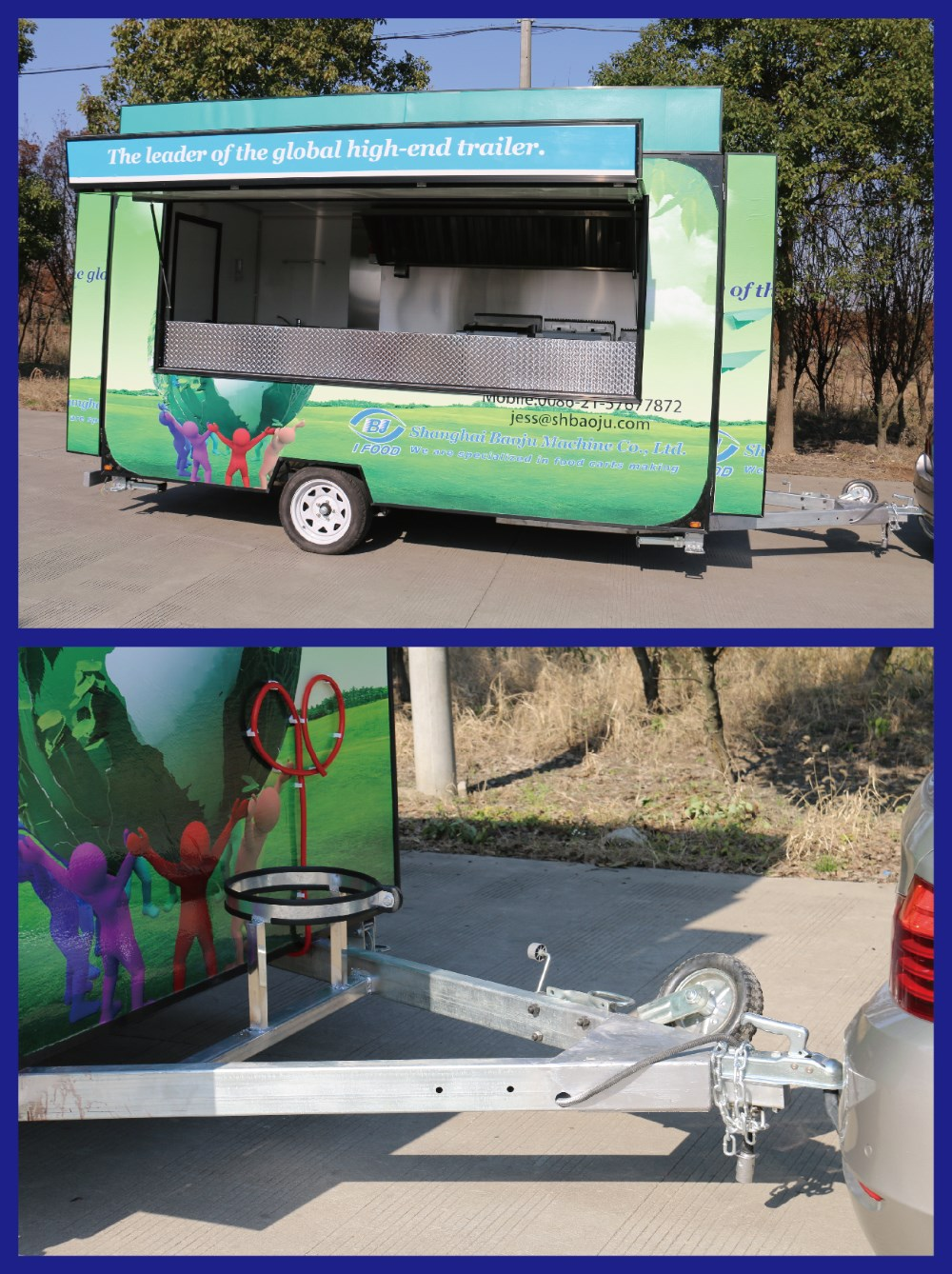 FV55 food truck for sale malaysia cheap food trailer food hot dog