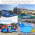 Amazing cheap best commercial inflatable water park