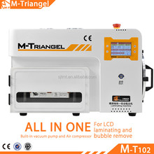 Updated New Design M- Triangel Brand LCD Vacuum Laminator with Debubblers All in One for Mobile Phone Fast Fix
