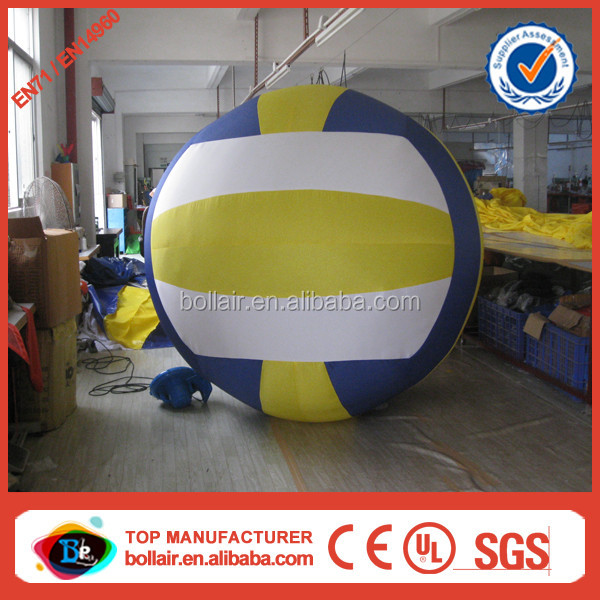 Factory direct 3m cheap giant inflatable volleyball