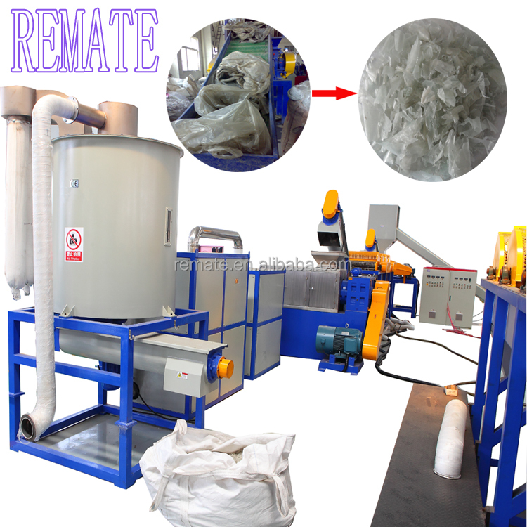 PVC HDPE ABS PA bottle recycling washing macine used pet bottle cleaning line