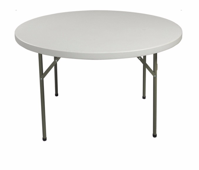 Cheap Round Tables For Sale: High Quality Cheap White Plastic Folding Round Table For