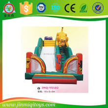giant inflatable tiger slide, sport inflatable equipment, sport game type inflatable