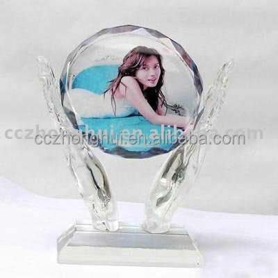 2017 Hot sale customize crystal photo frame