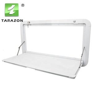 Universal White Aluminum RV Picnic Caravan Folding External Table For sale