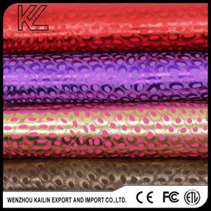 L0207 PU SYNTHETIC EMBOSSED LEATHER WITH BACKING IMITATE THE COTTON VELVER FOR SHOES,FOR BAGS
