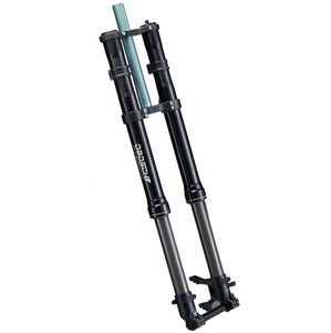 Solid double crown inverted air suspension bike front fork for downhill bike or ebike/Dooldebike