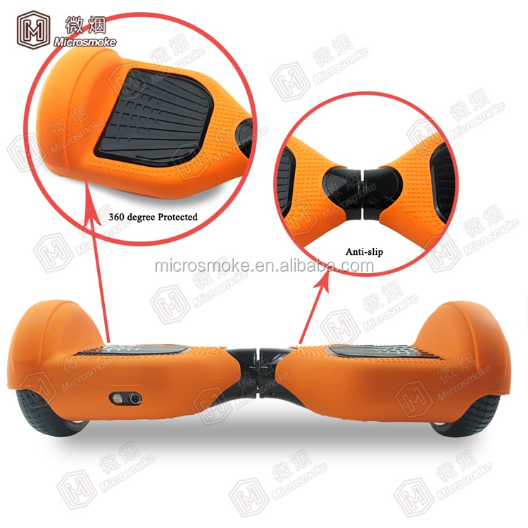 "6.5"" hover board 2 wheels silicone protector, self balancing scooter, two wheel smart balance electric scooter"