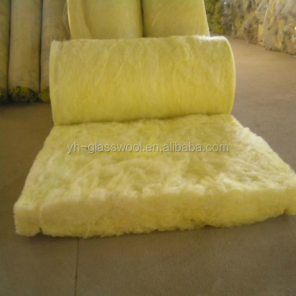 R13 R19 R30 Fiber Glass Wool Thermal Insulation Building