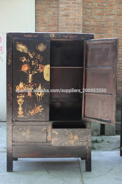 muebles muebles antiguos chinos produccin gabinete pintura de la mano