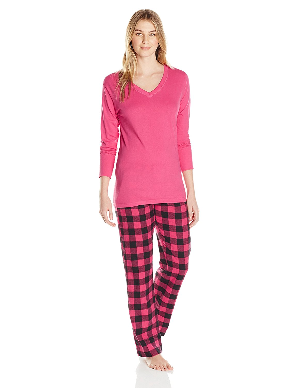 Get Quotations · Bottoms Out Women s Flannel Pajama Set 1348a6860