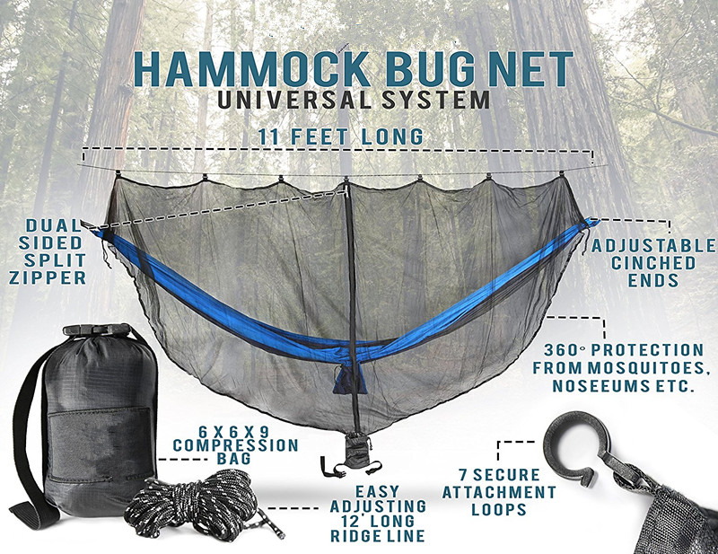 Bug Mosquito Net for Hammock