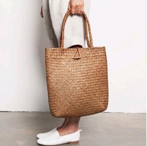 Wholesale Fashion Designer Eco Friendly Custom Wicker Shoulder Shopping Bag  Beach Straw Bag Handbags 808f97b8dcd4d
