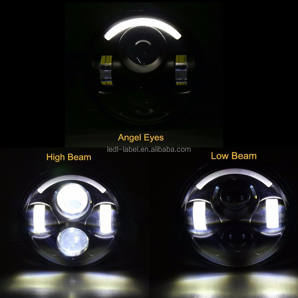 5.75 Inch 40w hi low beam led headlight for h-arley motorcycle