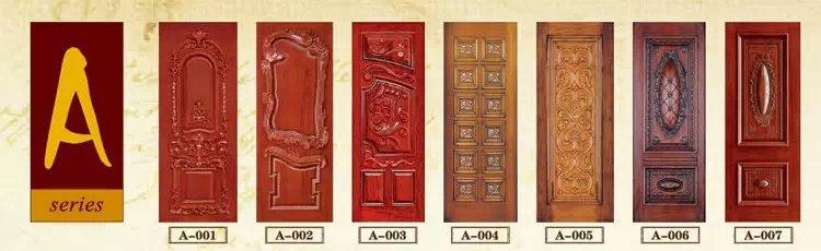 Residential Wooden Door Design Of China Painting Wood Door ...
